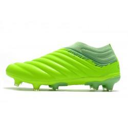 Chaussures de football Adidas Copa 20+ FG Volt vert