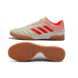 Chaussures de foot Adidas Copa 20.1 IN Knitting Champagne Rouge