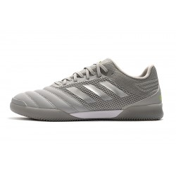 Chaussures de foot Adidas Copa 20.1 IN Knitting Gris Argent