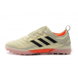 Chaussures de foot Adidas Copa 20.1 TF Knitting MD Champagne