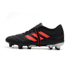 Chaussures de foot Crampons Adidas Copa Gloro 19.2 FG Noir Rouge