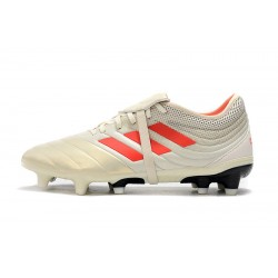 Chaussures de foot Crampons Adidas Copa Gloro 19.2 FG Champagne