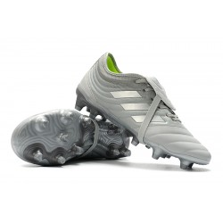Chaussures de foot Crampons Adidas Copa Gloro 19.2 FG Gris Argent