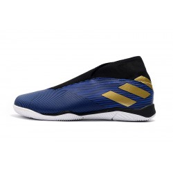 Chaussures de foot Adidas Nemeziz 19.3 IN MD Bleu d'or