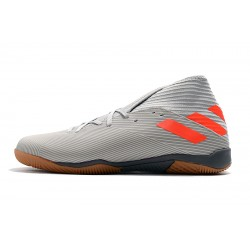 Chaussures de foot Adidas Nemeziz 19.3 IN MD Gris Orange