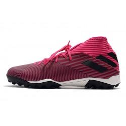 Chaussures de foot Adidas Nemeziz 19.3 TF MD Peach Rose Noir