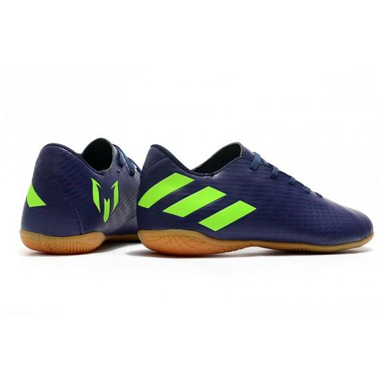 Chaussures de foot Adidas Nemeziz 19.4 IN Bleu Vert