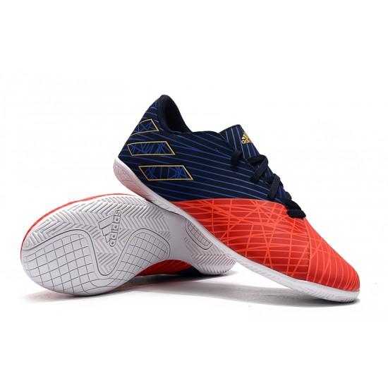 Chaussures de foot Adidas Nemeziz 19.4 IN Rouge Noir