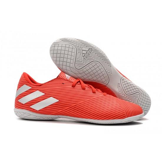 Chaussures de foot Adidas Nemeziz 19.4 IN Rouge Argent