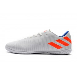 Chaussures de foot Adidas Nemeziz 19.4 IN Blanc Orange
