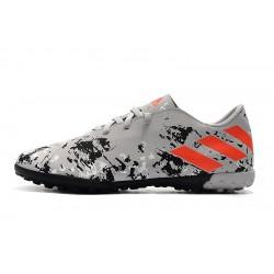 Chaussures de foot Adidas Nemeziz 19.4 TF Gris Orange Noir
