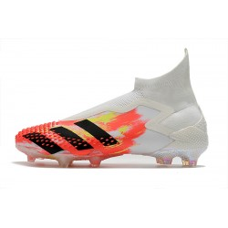 Chaussures de football Adidas Predator Mutator 20+ FG - blanc Orange Noir