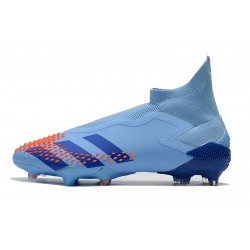 Chaussures de football Adidas Predator Mutator 20+ FG Tormentor - Bleu Orange