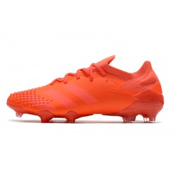 Chaussures de football Adidas Predator Mutator 20.1 Low FG - Orange