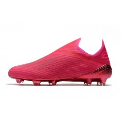 Chaussures de football Adidas X 19+ FG Encryption Code Rose