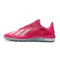Chaussures de foot Adidas X 19.1 IC Rose