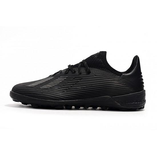 Chaussures de foot Adidas X 19.1 TF Tout Noir