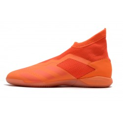 Chaussures de foot Adidas sans lacet Predator 20.3 IN Orange