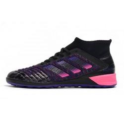 Chaussures de foot Adidas Predator 19.3 IC Noir Rose Bleu