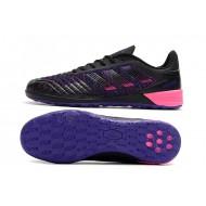 Chaussures de foot Adidas Predator 19.1 IC Noir Bleu Rose