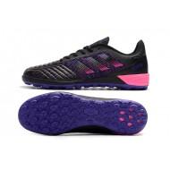 Chaussures de foot Adidas Predator 19.1 TF Noir Bleu Rose