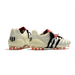 Chaussures de foot Crampons Adidas Predator Mania FG Classic Champagne