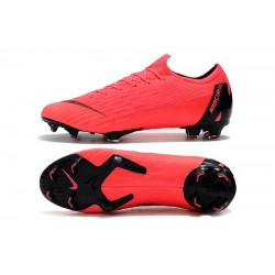 Chaussures de foot Crampons Nike Mercurial Vapor Fury VII Elite FG Rose