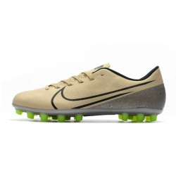 Chaussures de foot Crampons Nike Dream Speed Mercurial Vapor 13 Academy AG d'or