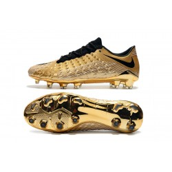 Chaussures de foot Crampons Nike Hypervenom Phantom III DF FG d'or