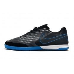 Chaussures de foot Nike Legend VIII Academy IC Noir Bleu Blanc