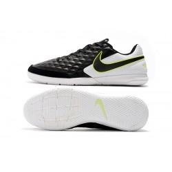 Chaussures de foot Nike Legend VIII Academy IC Noir Blanc