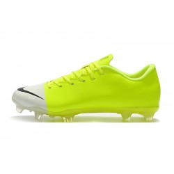 Chaussures de foot Crampons Nike Mercurial Superfly 360 GS FG Vert fluo Blanc