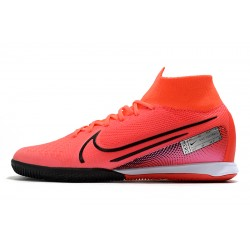 Chaussures de foot Nike Mercurial Superfly 7 Elite MDS IC Flyknit Rouge