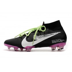 Chaussures de football Nike Mercurial Superfly 7 Elite SE FG Noir Rose blanc