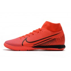 Chaussures de foot Nike Mercurial Superfly VII Academy IC Rouge