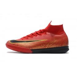 Chaussures de foot Nike Mercurial SuperflyX VI Elite CR7 IN Rouge