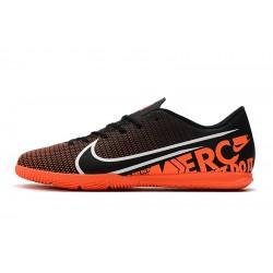 Chaussures de foot Nike Mercurial Vapor 13 Academy IC Noir Orange