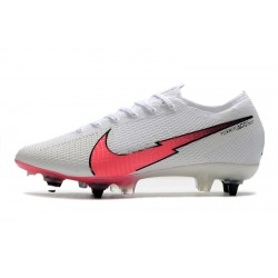 Chaussures de football Nike Mercurial Vapor 13 Elite SG-PRO AC blanc Rose Bleu