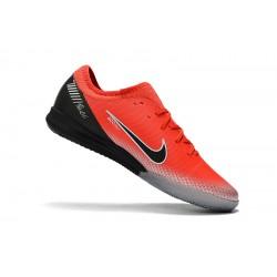 Chaussures de foot Nike Mercurial VaporX VII Pro IC Rouge Argent