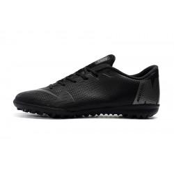 Chaussures de foot Nike Mercurial VaporX XII Academy TF Tout Noir