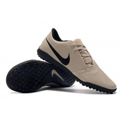 Chaussures de foot Nike Phantom VNM Club TF Cream Blanc
