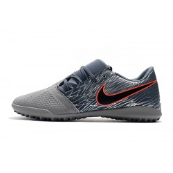 Chaussures de foot Nike Phantom VNM Club TF Dark Gris
