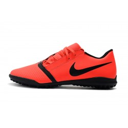 Chaussures de foot Nike Phantom VNM Club TF Orange Noir