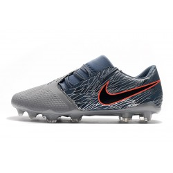 Chaussures de foot Crampons Nike Phantom VNM Elite FG Dark Gris