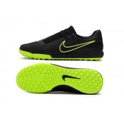 Chaussures de foot Nike Phantom VNM Pro-TF Noir Vert