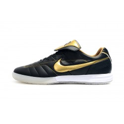 Chaussures de foot Nike Tiempo Legend 7 R10 Elite IC Noir d'or