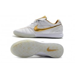 Chaussures de foot Nike Tiempo Legend 7 R10 Elite IC Blanc