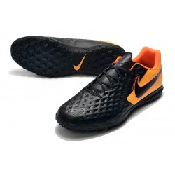 Chaussures de foot Nike Tiempo Legend VIII Club TF Noir Orange