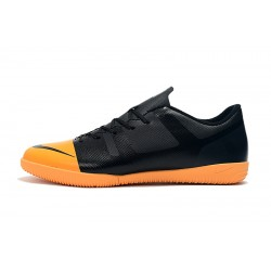 Chaussures de foot Nike Vaporx 12CLUB IC Noir Orange