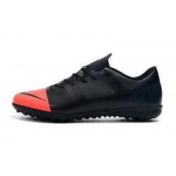 Chaussures de foot Nike Vaporx 12CLUB TF Noir Rose